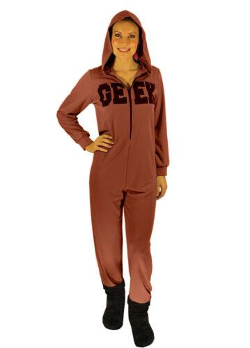 Geek Slogan Adult One-piece Suit