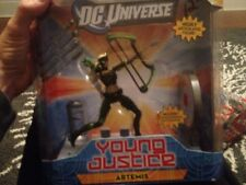 "DC UNIVERSE CLASSICS YOUNG JUSTICE 6"" BOX SET ACTION FIGURE ARTEMIS GREEN ARROW"