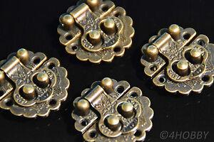 4x Bouchon Antique environ 30 joins coffre à trésor coffre trésor boîte coffret ALT  </span>