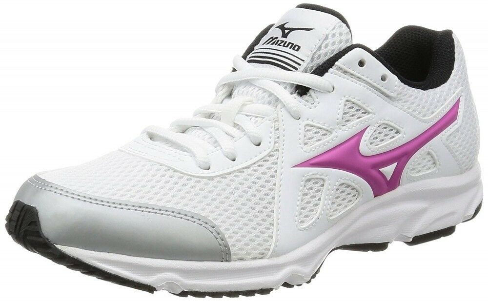 Mizuno Japan Lady's Running shoes MAXIMIZER 19 K1GA1701 White × Pink