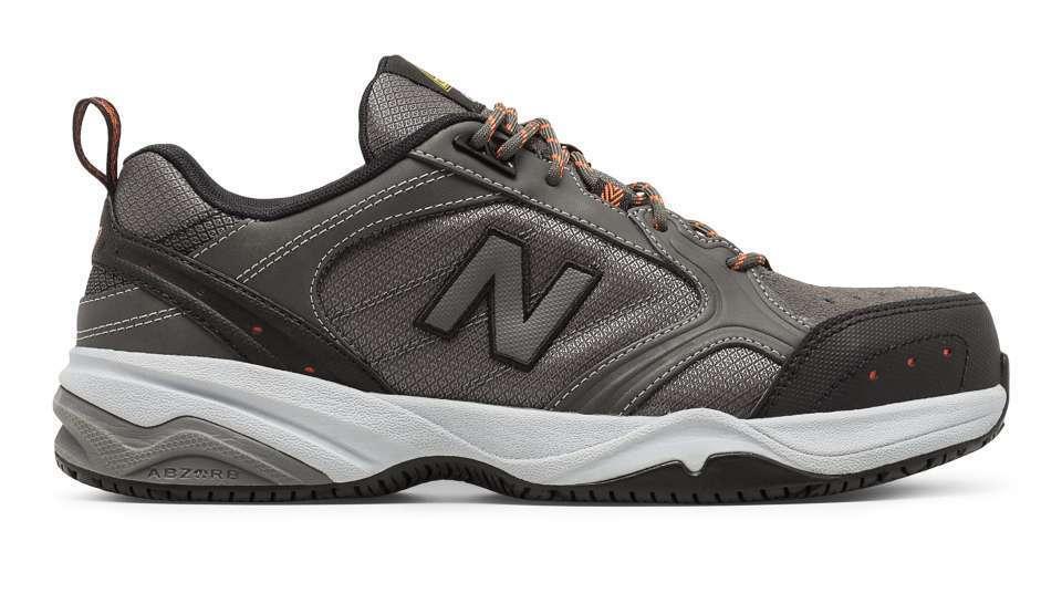 New Balance shoes Steel Toe 627 Grey Black Slip Resistant Safety MID627G SD V1