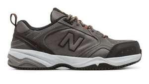 New Balance Shoes Steel Toe 627 Grey Black Slip Resistant Safety ...