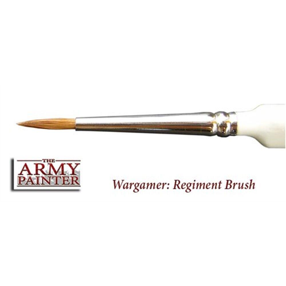 Regiment Brush - Army Painter - Wargamer Brushes Full Range Hobby Series