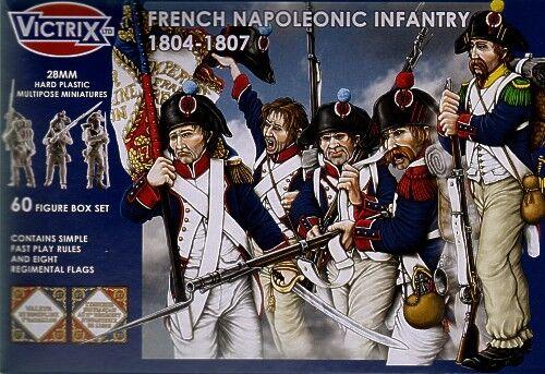 Victrix 28mm Français Napoléonienne Infanterie 1804-1807  VX0008