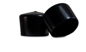 Flexible Pipe Post Rubber Cover Pack of 10 Caps Prescott Plastics 1 1//2 Inch Square Black Vinyl End Cap B