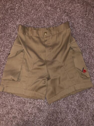 Vintage 80s Cannondale Tan Touring Cycling Shorts… - image 1