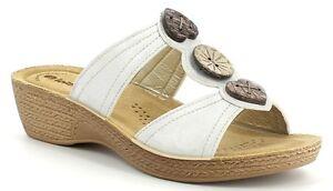 INBLU pantofole ciabatte donna benessere ART GL04 ZEPPA BIANCO slippers