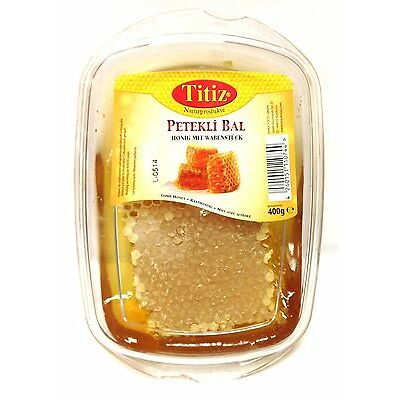 Bienen Natur Wabenhonig Waben Honig aus der Türkei 400 g Petekli Bal