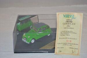 Vitesse-VCC99030-Citroen-2-CV-1982-034-BAMBOO-034-1-43-mint-in-box