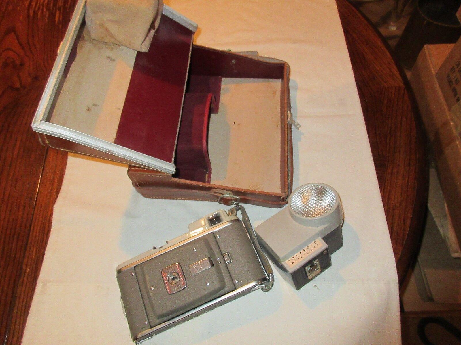 Polaroid , Land Camera , Model 80 B , Wink Light , Vint