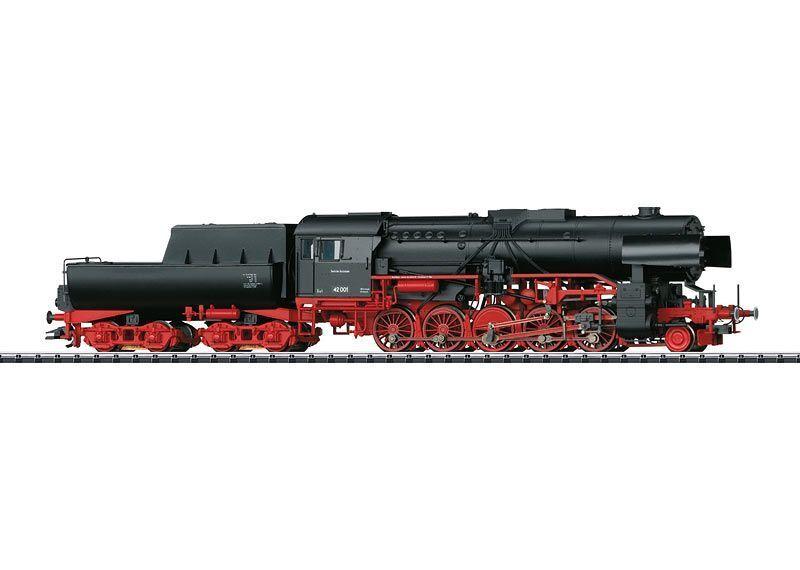 Trix 22226 gravi TRENO MERCI-Locomotiva a vapore BR 42, con vasche TENDER Merce Nuova