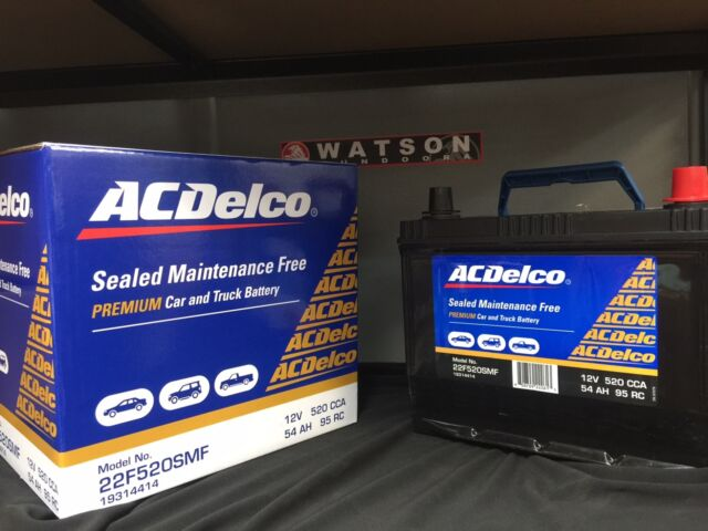 Holden Commodore  VT VX VY VZ Acdelco Battery 36 Month Warranty* Others Avail