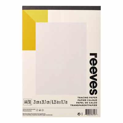 Reeves Tracing Paper Pad with 30 Sheets A4