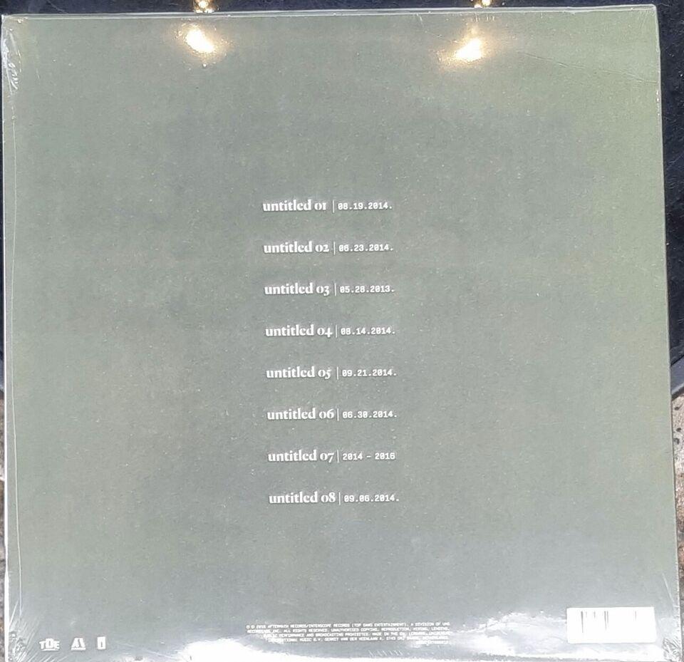 LP, kendrick Lamar, Untitled unmastered