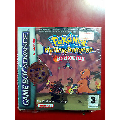 Pokemon: Mystery Dungeon - Red Rescue Team (GameBoy Advanced) BRAND NEW SEALED !