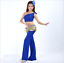 One-Shoulder Blouse+Practice Long Pants 2pcs set Belly Dance Costumes Dancewear