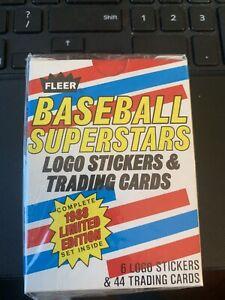 1988 Fleer Baseball Superstars Complete Set #1-44 *NEW IN BOX
