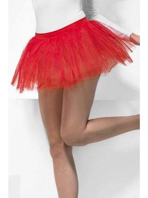 Tutu Underskirt Adult Womens Smiffys Fancy Dress Costume Accessory