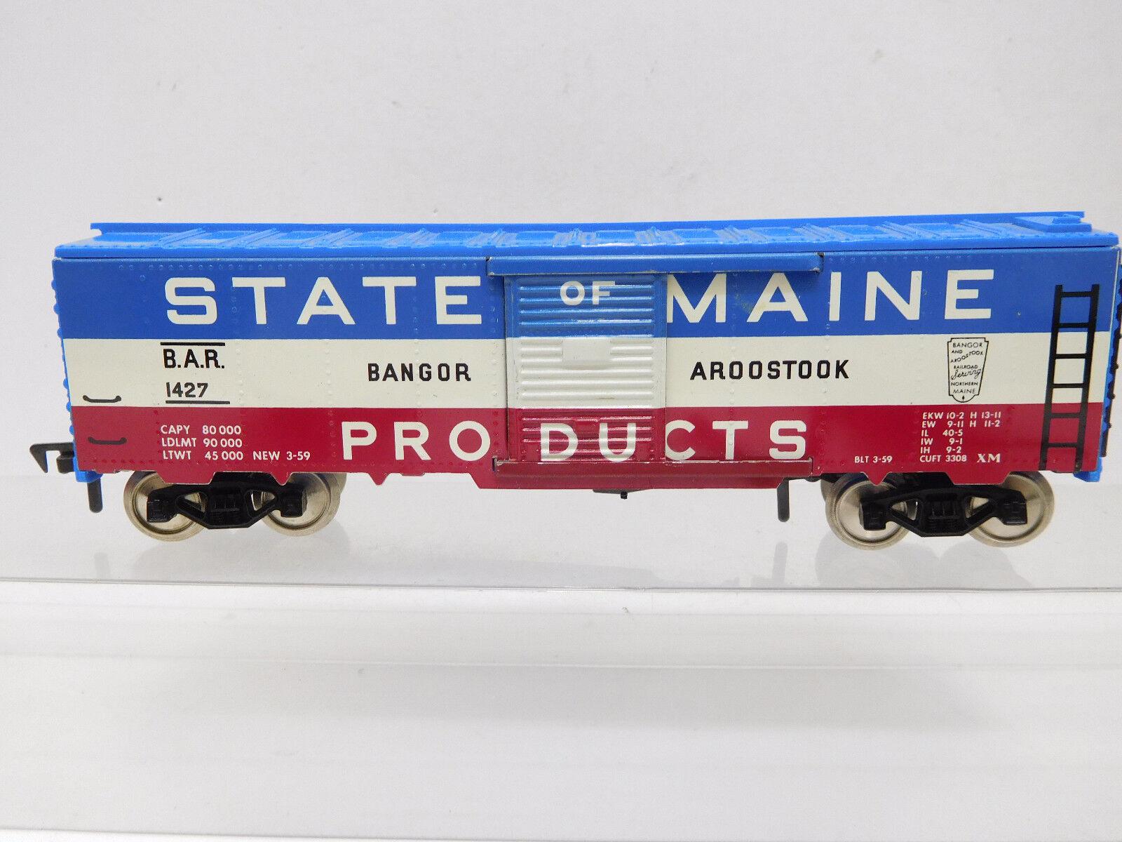 Mes-52564 Fleischmann h0 US carri merci State of Maine ottime condizioni