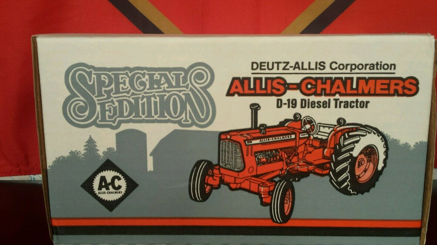 ERTL ALLIS CHALMERS D19 1 16 DIECAST METAL Farm tracteur REPLICA DE COLLECTION