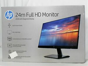HP 24 inch Computer LED Monitor IPS Micro-edge HDMI VGA 60Hz 5ms - 24m