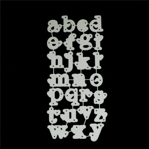 Lowercase Letters Love Metal Cutting Dies For DIY Scrapbooking Paper-Cards Wd