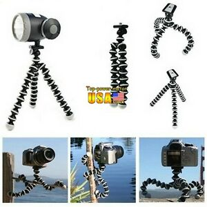 Mini-Flexible-Tripod-Bubble-Octopus-Stand-Gorilla-Pod-Gopro-Camera-SLR-DV