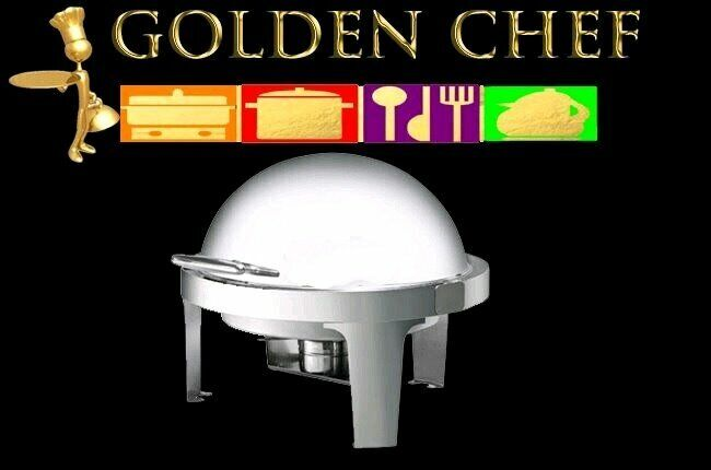 Chafing Dish Round Roll Top