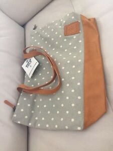 Pottery Barn Teen North Field Dottie Dot Beach School Tote