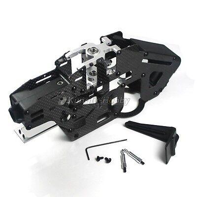 Belt Drive Carbon Fiber Main Frame Set for Trex 450 PRO Helicopter