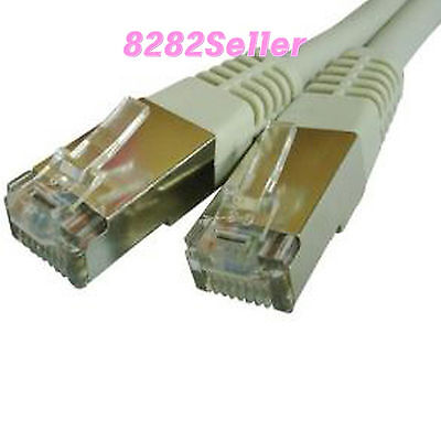 10M 30FT CAT 6 RJ45 FTP Ethernet Network LAN Cable STP Direct 1Gbps cat6 26AWG