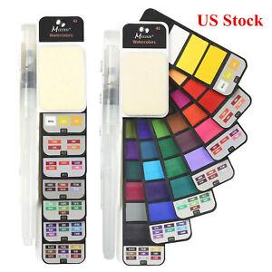 42-Colors-Watercolor-Paint-Set-Foldable-amp-Portable-Watercolor-Paint-Set