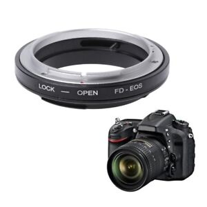 FD-EOS Mount Adapter Ring For Canon FD Lens to EF EOS Mount Camera