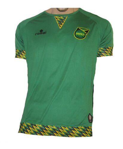 Jamaica Jersey Away 2015//16 Romai The Reggae Boyz Shirt Soccer
