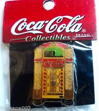 COCA-COLA  VINTAGE Jukebox PIN NEW IN PACKAGE!! Coca-Cola Collectibles