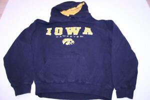 Women-039-s-Iowa-Hawkeyes-L-Hoodie-Hooded-Sweatshirt-Black-Stadium-Athletics