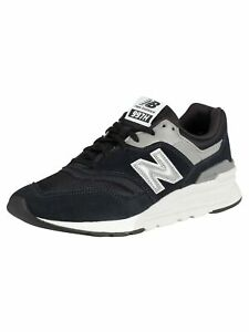 977 Suede Trainers, Black