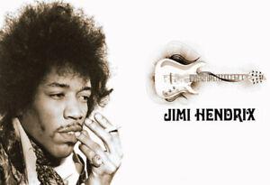 Jimi-Hendrix-Guitar-Blechschild-Schild-gewoelbt-Metal-Tin-Sign-20-x-30-cm
