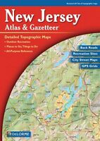 Jersey Atlas And Gazetteer By Delorme, (paperback), Delorme Publishing , on Sale