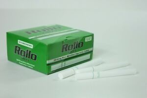 500-KING-SIZE-034-50s-034-GREEN-MENTHOL-EMPTY-ROLLO-TUBE-Cigarrette-Tobbacco-Filter