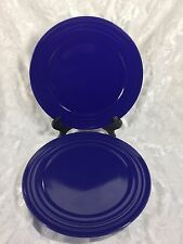 Rachael Ray Red Double Ridge Dinner Plates Set of 4 EC | eBay