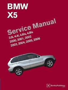 bmw x5 e53 3 0i 4 4i 4 6is 4 8is owners service repair manual rh ebay co uk bmw x5 e53 service manual free download bmw x5 e53 service manual