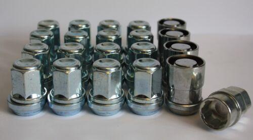 16 X M12X1.5 WOBBLE VARIABLE WHEEL NUTS /& LOCKING FIT JAGUAR XJ XK XKR NEW MODEL