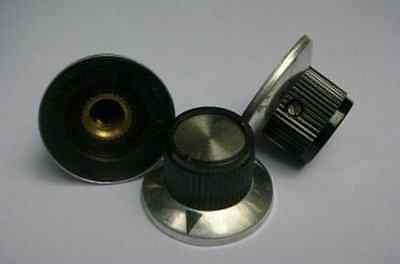 "2p Amplifier Metal CAP BELL Pointer 1/4"" Shaft Knobs,C3 ay"