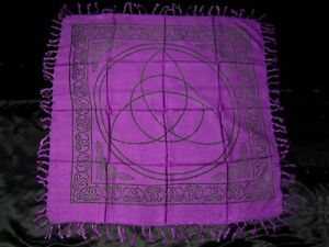 36-034-x-36-034-Charmed-Triquetra-Altar-Cloth-Wicca-Pagan-CTH25