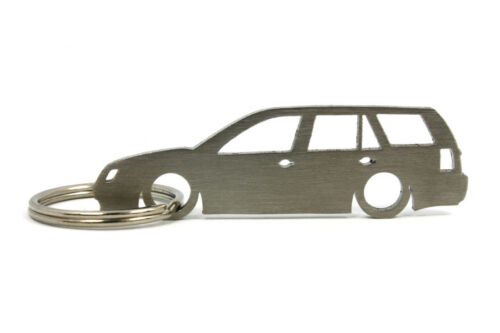 VW Bora combi-volkswagen carshape llavero acero inoxidable #564