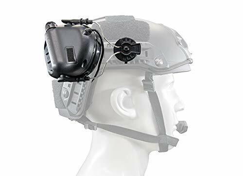 Combat Helmet Rail Adapter for Peltor Comtac Sordin Howard Leight Walker Headset