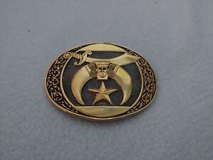 Awards-Design-Medals-ADM-Belt-Buckle-24KGP-Sword-Pharaoh-Star