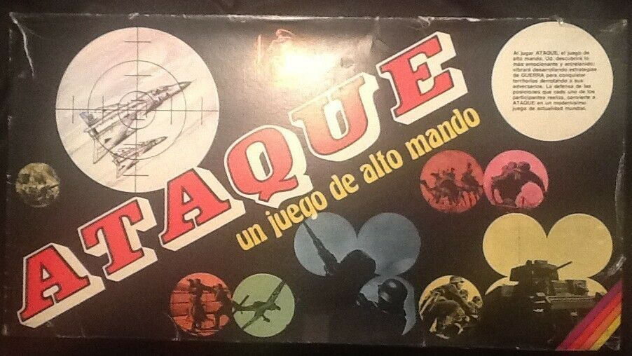 Ataque Game Un Juengo De Alto Mando Spanish World War II Game Complete
