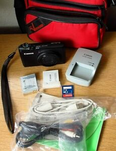Canon Powershot S95 Compact Digital Camera Accessories Great Working Cond Ebay